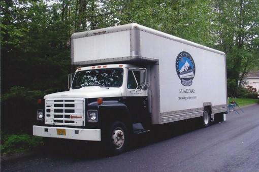 gutter truck